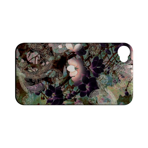 Lacy Flowers - Geeks Designer Line (GDL) Apocalyptic Series Matte Back Cover for Apple iPhone 4/4S