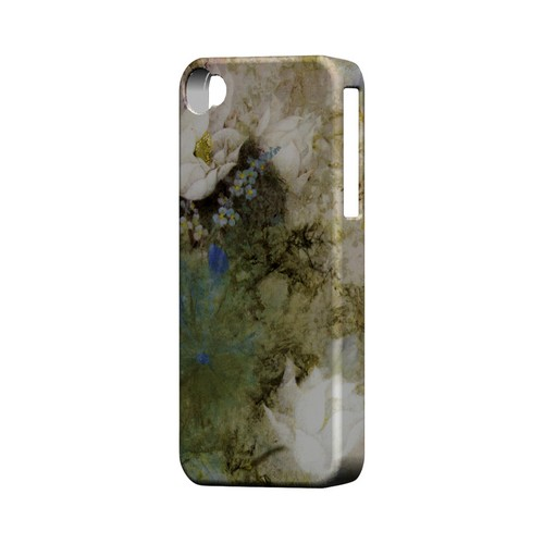 White Lillies - Geeks Designer Line (GDL) Apocalyptic Series Matte Back Cover for Apple iPhone 4/4S