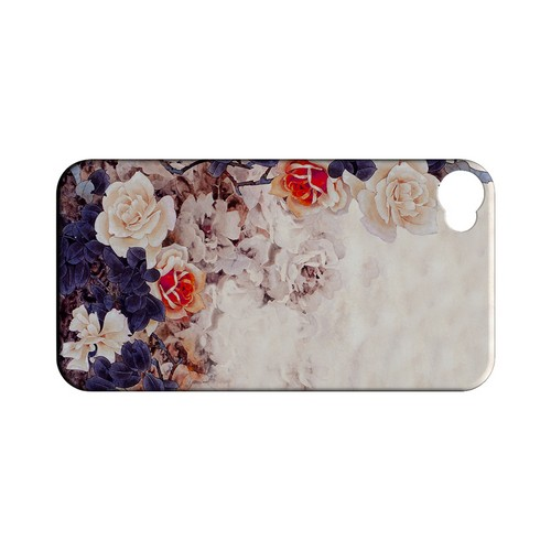 Vintage Roses - Geeks Designer Line (GDL) Apocalyptic Series Matte Back Cover for Apple iPhone 4/4S