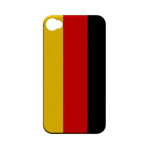 Germany Geeks Designer Line Flag Series Matte Hard Case for Apple iPhone 4/4S