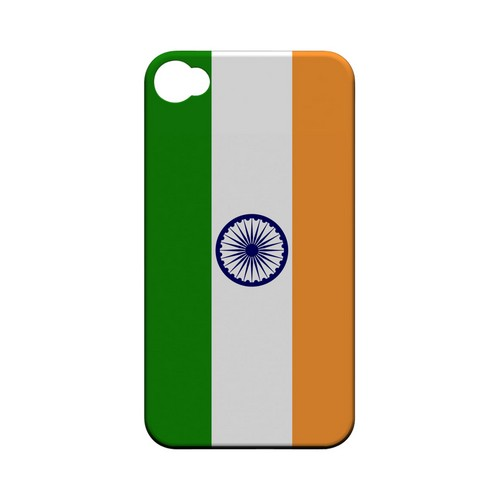 India Geeks Designer Line Flag Series Matte Hard Case for Apple iPhone 4/4S