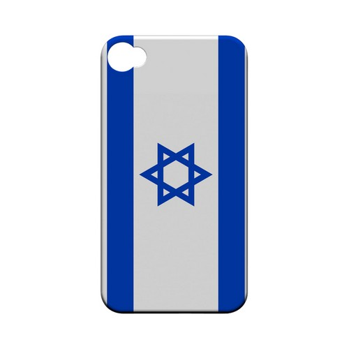 Israel Geeks Designer Line Flag Series Matte Hard Case for Apple iPhone 4/4S