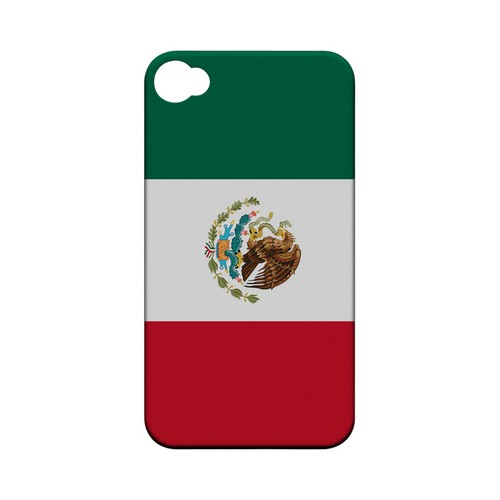 Mexico Geeks Designer Line Flag Series Matte Hard Case for Apple iPhone 4/4S