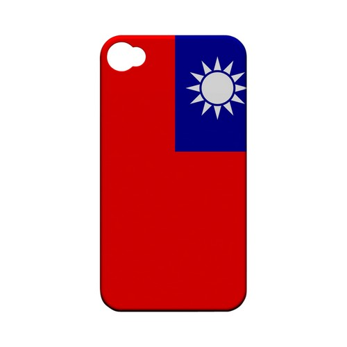 Taiwan Geeks Designer Line Flag Series Matte Hard Case for Apple iPhone 4/4S