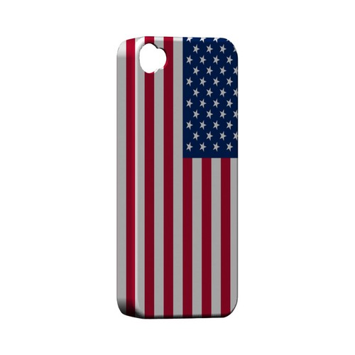 United States Geeks Designer Line Flag Series Matte Hard Case for Apple iPhone 4/4S