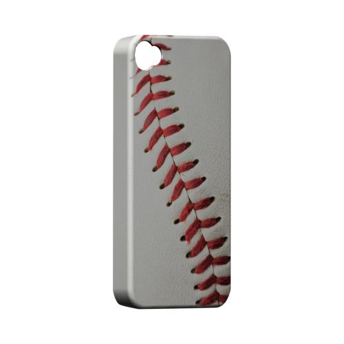 Baseball Geeks Designer Line Sports Series Matte Hard Case for Apple iPhone 4/4S