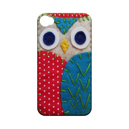 White/ Blue Owl Geek Nation Program Exclusive Jodie Rackley Series Hard Case for Apple iPhone 4/4S