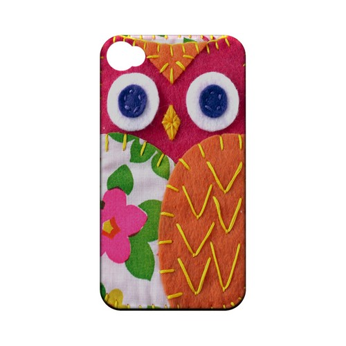 Hot Pink/ Green Owl Geek Nation Program Exclusive Jodie Rackley Series Hard Case for Apple iPhone 4/4S