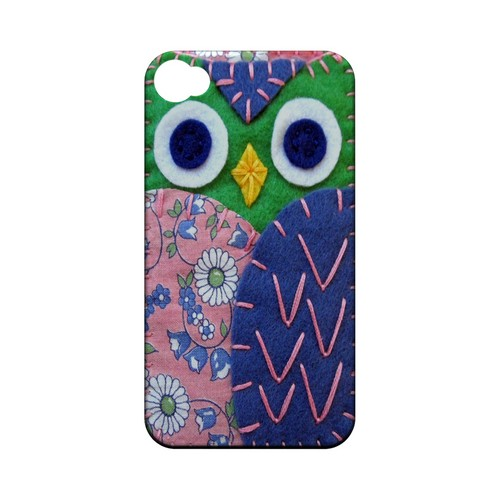 Green/ Blue Owl Geek Nation Program Exclusive Jodie Rackley Series Hard Case for Apple iPhone 4/4S