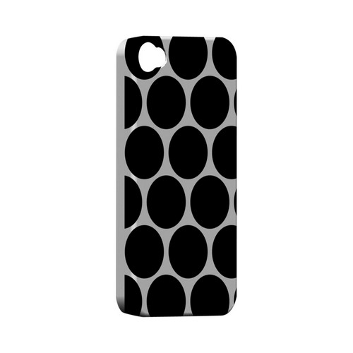 Big & Black Geeks Designer Line Polka Dot Series Matte Hard Case for Apple iPhone 4/4S