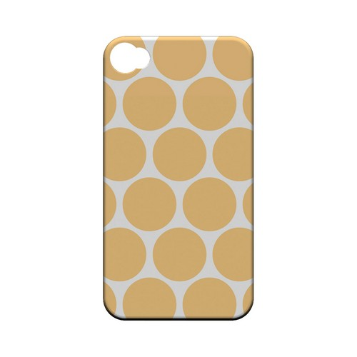 Big & Orange Geeks Designer Line Polka Dot Series Matte Hard Case for Apple iPhone 4/4S