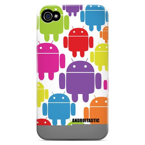 Luxmo Apple Verizon/ AT&T iPhone 4, iPhone 4S Hard Case - White - XXIP4