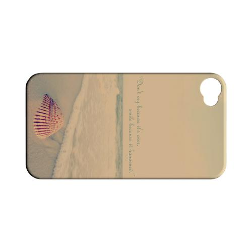 Don't Cry Geeks Designer Line Beach Series Matte Hard Case for Apple iPhone 4/4S