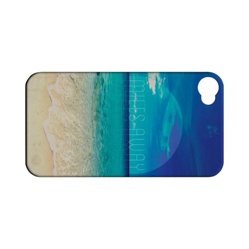 Miles Away Geeks Designer Line Beach Series Matte Hard Case for Apple iPhone 4/4S