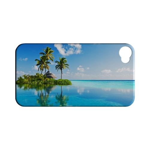 Tropical Paradise Geeks Designer Line Beach Series Matte Hard Case for Apple iPhone 4/4S