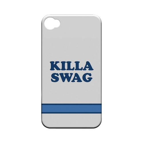 Killa Swag - Geeks Designer Line Swag Series Matte Case for Apple iPhone 4/4S