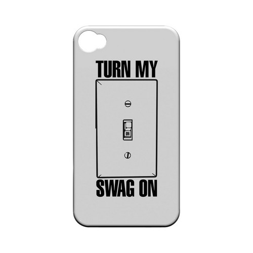 Light Switch - Geeks Designer Line Swag Series Matte Case for Apple iPhone 4/4S