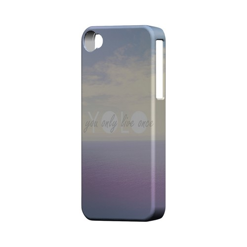 Filled YOLO - Geeks Designer Line YOLO Series Matte Case for Apple iPhone 4/4S