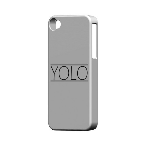 Modern YOLO - Geeks Designer Line YOLO Series Matte Case for Apple iPhone 4/4S