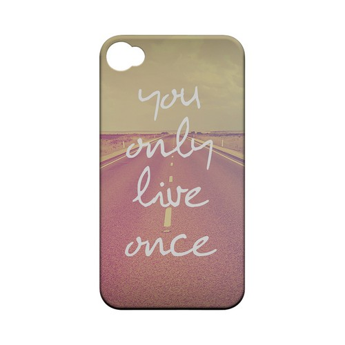 Open Road YOLO - Geeks Designer Line YOLO Series Matte Case for Apple iPhone 4/4S