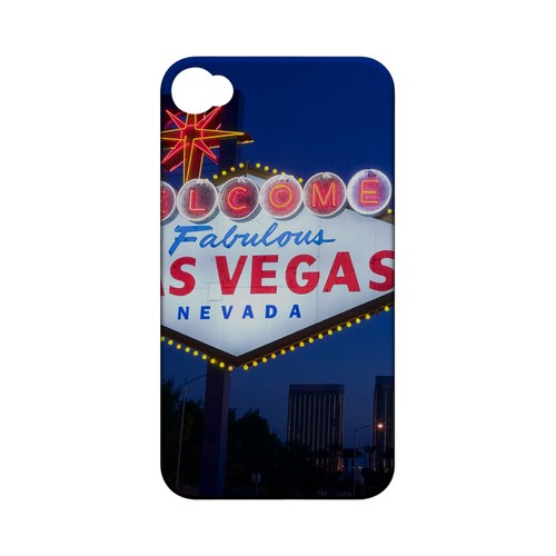 Las Vegas - Geeks Designer Line City Series Matte Case for Apple iPhone 4/4S