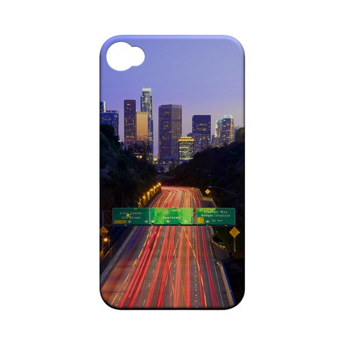Los Angeles - Geeks Designer Line City Series Matte Case for Apple iPhone 4/4S