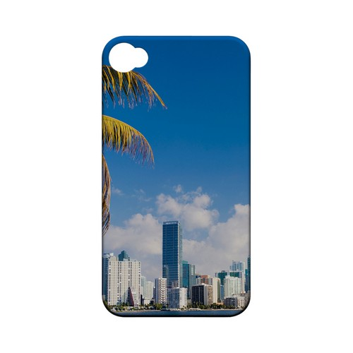 Miami - Geeks Designer Line City Series Matte Case for Apple iPhone 4/4S