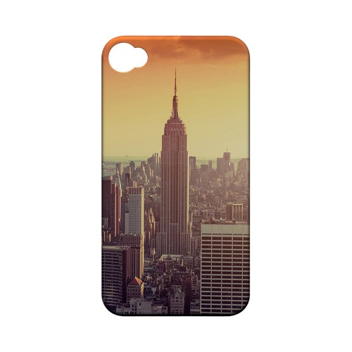 New York - Geeks Designer Line City Series Matte Case for Apple iPhone 4/4S
