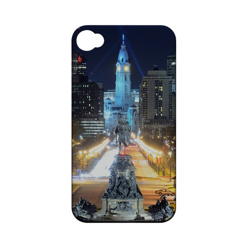 Philadelphia - Geeks Designer Line City Series Matte Case for Apple iPhone 4/4S