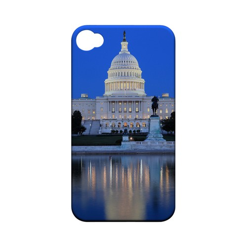 Washington D.C. - Geeks Designer Line City Series Matte Case for Apple iPhone 4/4S