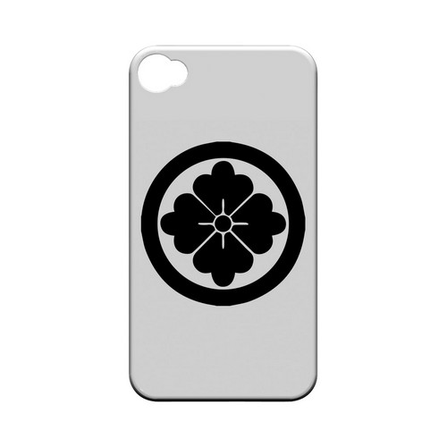 Hanabishi Kamon - Geeks Designer Line Tattoo Series Matte Case for Apple iPhone 4/4S