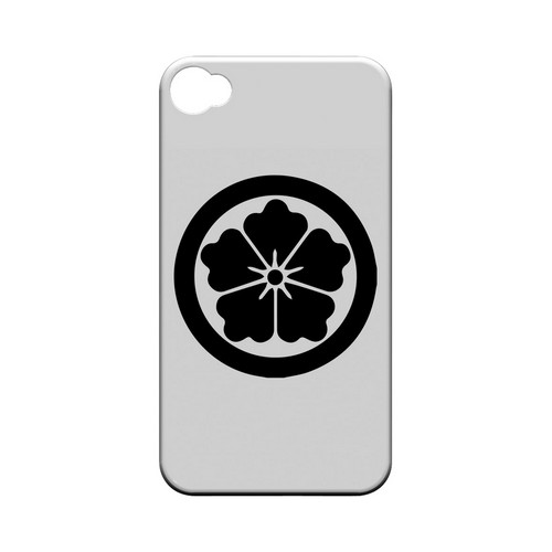 Karahana Kamon - Geeks Designer Line Tattoo Series Matte Case for Apple iPhone 4/4S