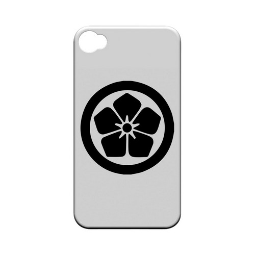 Kikyo Kamon v.1 - Geeks Designer Line Tattoo Series Hard Case for Apple iPhone 4/4S