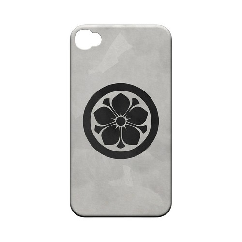 Kikyo Kamon on Paper v.3 - Geeks Designer Line Tattoo Series Hard Case for Apple iPhone 4/4S