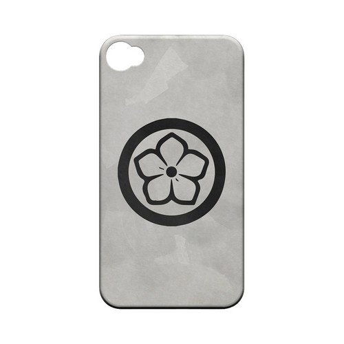 Kikyo Kamon on Paper v.4 - Geeks Designer Line Tattoo Series Hard Case for Apple iPhone 4/4S