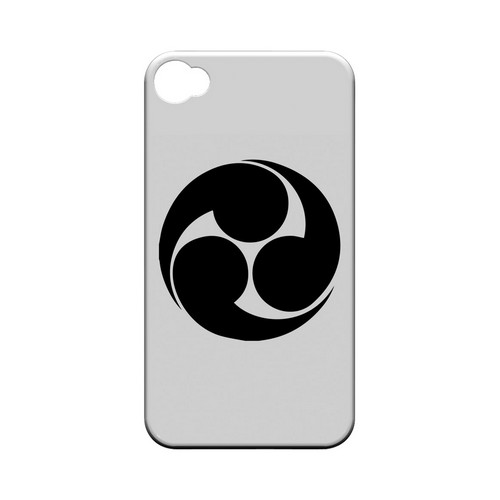 Tomoe Kamon v.1 - Geeks Designer Line Tattoo Series Hard Case for Apple iPhone 4/4S