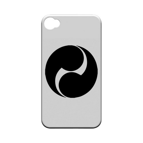 Tomoe Kamon v.2 - Geeks Designer Line Tattoo Series Hard Case for Apple iPhone 4/4S