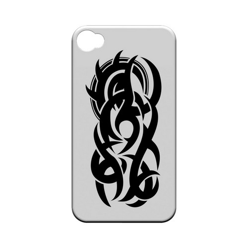 Tribal - Geeks Designer Line Tattoo Series Hard Case for Apple iPhone 4/4S