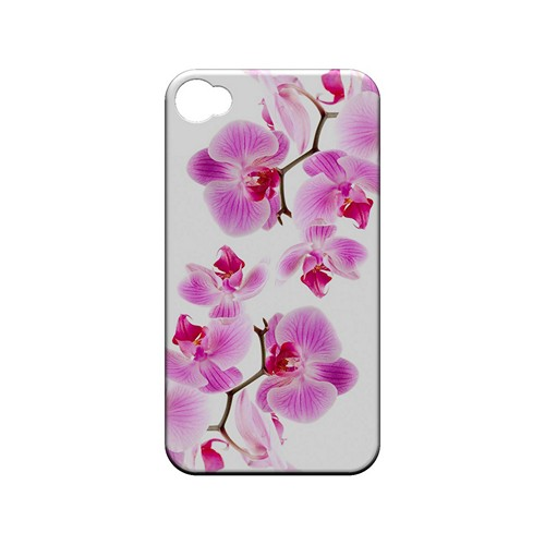Orchids Orchids - Geeks Designer Line Floral Series Matte Case for Apple iPhone 4/4S