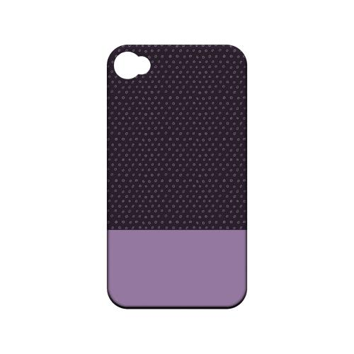 Little Circle Dots African Violet - Geeks Designer Line Pantone Color Series Matte Case for Apple iPhone 4/4S