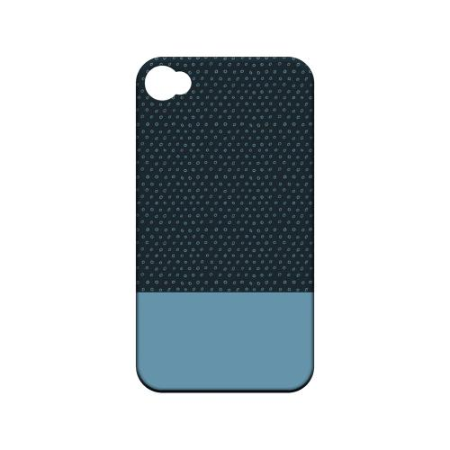 Little Circle Dots Dusk Blue - Geeks Designer Line Pantone Color Series Matte Case for Apple iPhone 4/4S