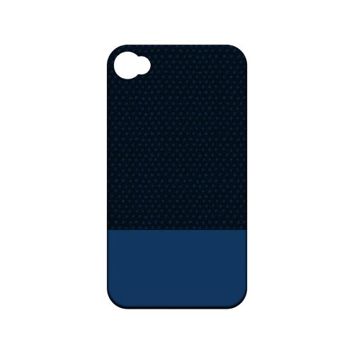 Little Circle Dots Monaco Blue - Geeks Designer Line Pantone Color Series Matte Case for Apple iPhone 4/4S