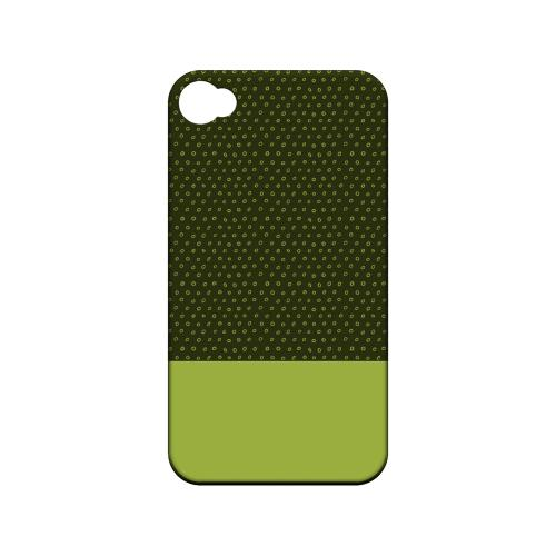 Little Circle Dots Tender Shoots - Geeks Designer Line Pantone Color Series Matte Case for Apple iPhone 4/4S
