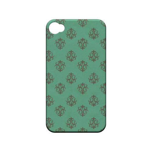 Ornamental Emerald - Geeks Designer Line Pantone Color Series Matte Case for Apple iPhone 4/4S