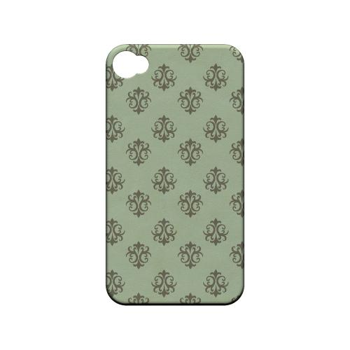 Ornamental Grayed Jade - Geeks Designer Line Pantone Color Series Matte Case for Apple iPhone 4/4S