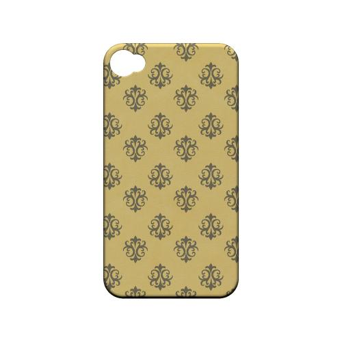 Ornamental Lemon Zest - Geeks Designer Line Pantone Color Series Matte Case for Apple iPhone 4/4S