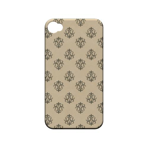Ornamental Linen - Geeks Designer Line Pantone Color Series Matte Case for Apple iPhone 4/4S