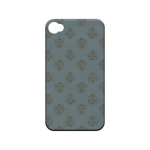 Ornamental Monaco Blue - Geeks Designer Line Pantone Color Series Matte Case for Apple iPhone 4/4S