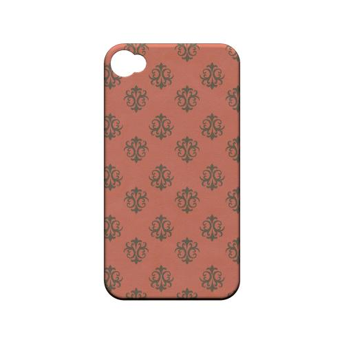 Ornamental Poppy Red - Geeks Designer Line Pantone Color Series Matte Case for Apple iPhone 4/4S