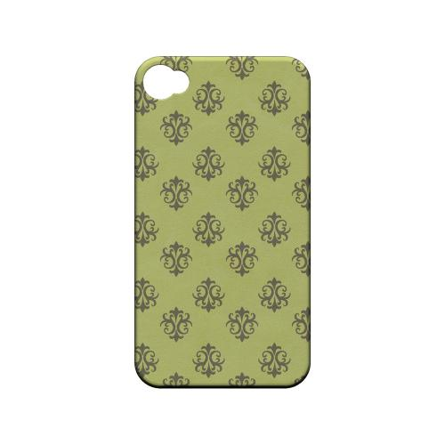 Ornamental Tender Shoots - Geeks Designer Line Pantone Color Series Matte Case for Apple iPhone 4/4S